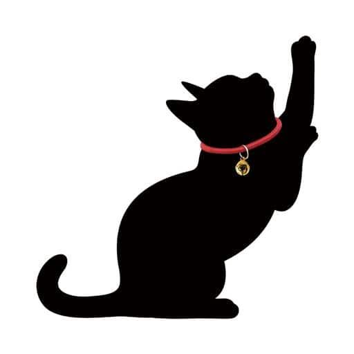 光る猫 キャットウォールライト - セシール ■カラー:かりかり) D(けづくろい) A(うずうず) B(おさんぽ