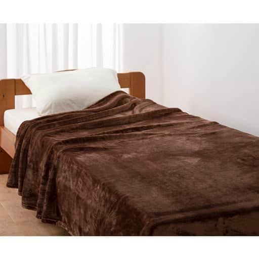 あったか毛布 - セシール ■カラー:ブラウン系 ■サイズ:シングル(140x200cm)