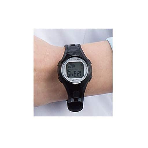 【レディース】 ウォッチ電波万歩計small - セシール ■カラー:ブラック×シルバー