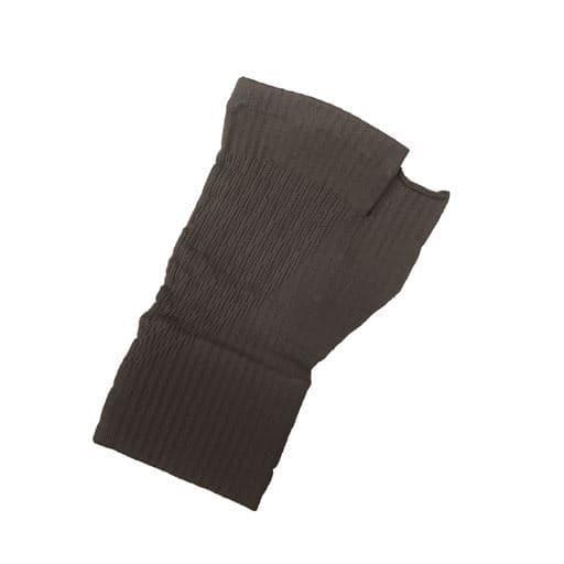腱鞘サポーター着圧磁気ら-く メッシュタイプ - セシール ■カラー:ブラック A(モカベージュ) ■サイズ:M,L