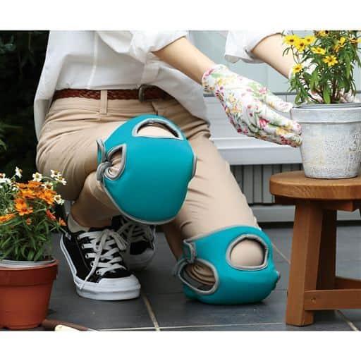 やわらか膝パッド(両足セット)/低反発ウレタンで衝撃吸収 - セシール