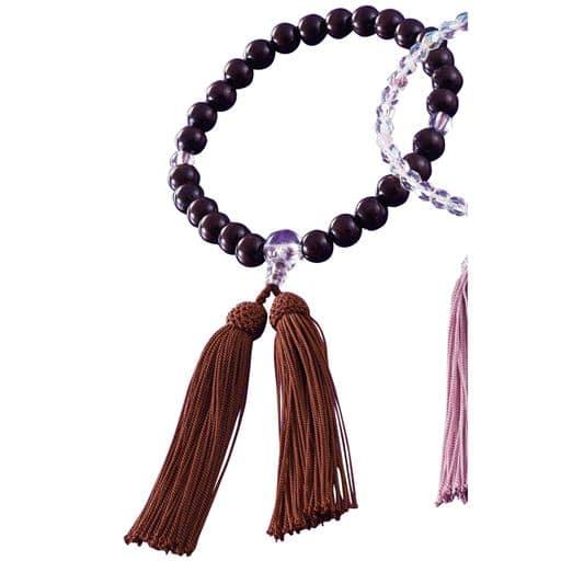 セシール京都のお念珠 ■カラー:男性用