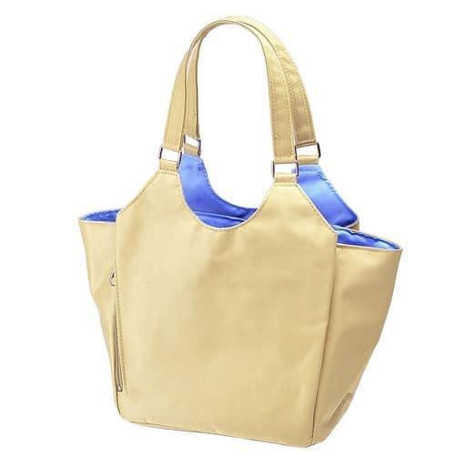 【レディース】 小振りな多機能手提げバッグ ■カラー:ベージュ