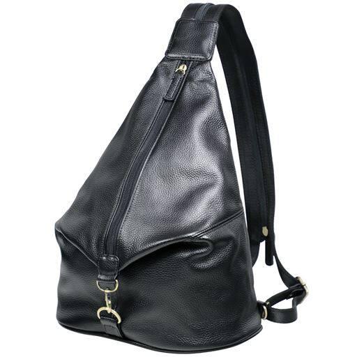 【レディース】 牛革2wayバッグ - セシール ■カラー:ブラック