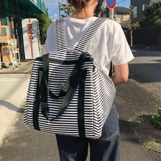 【レディース】 リュックにもなる買い物バッグ - セシール