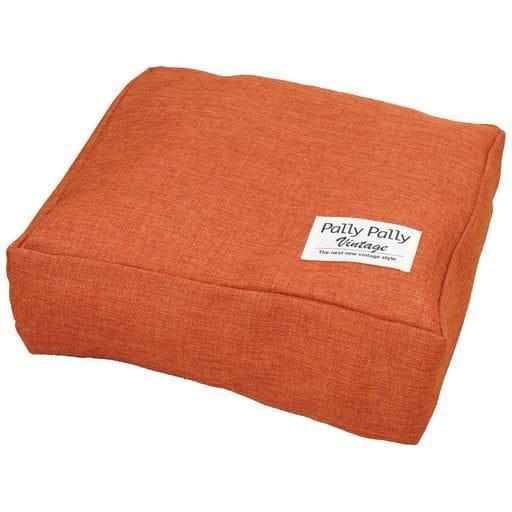 タオルやブランケットがクッションになる収納袋 - セシール ■カラー:オレンジ