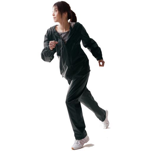 【レディース】 シェイプエクササウナスーツ - セシール ■サイズ:M