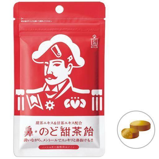 森下仁丹 鼻・のど甜茶あめ(10袋) - セシール