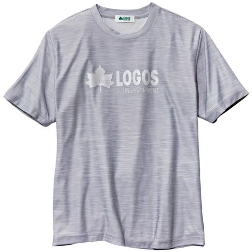 ドライリフレクタープリントTシャツ(ロゴス)
