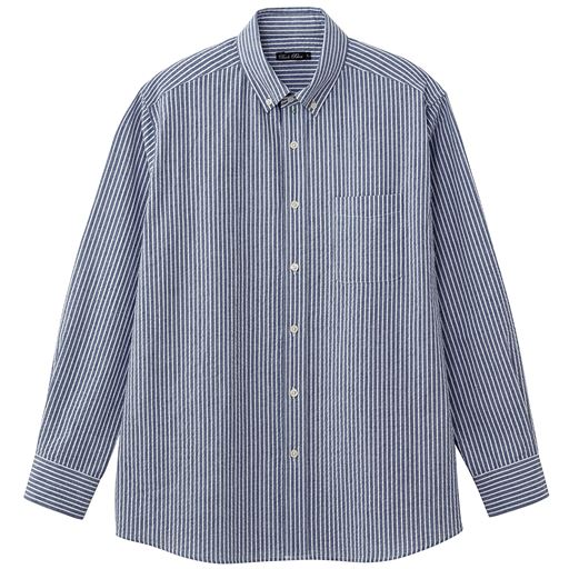 綿100%サッカー素材シャツ(長袖)