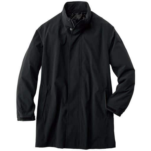 30%OFF【メンズ】 撥水・ストレッチ・フーデッドコート(CORDURA®) - セシール ■カラー:ブラック ■サイズ:LL,M,L