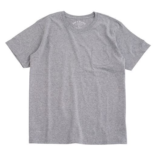 綿100%クルーネックTシャツ(半袖)/オーガニックコットン使用素材