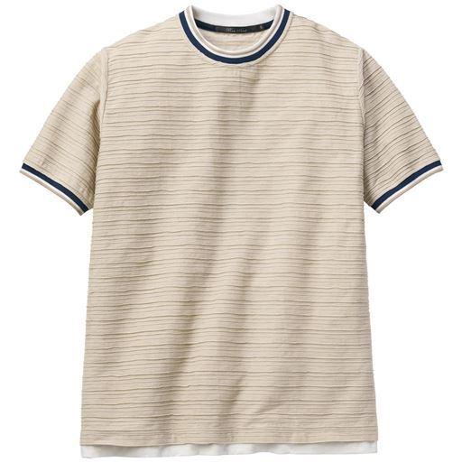 ドライ・レイヤードデザインTシャツ