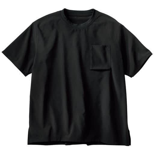 ドライ・ストレッチ・クルーネックTシャツ/安心の抗菌防臭機能付き