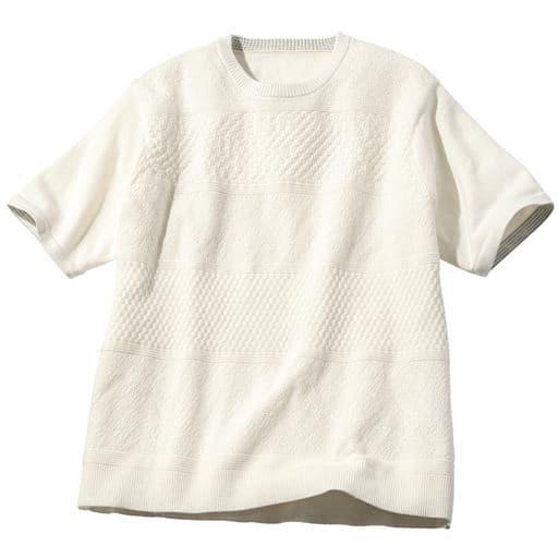 ウォッシャブル・ニットTシャツ