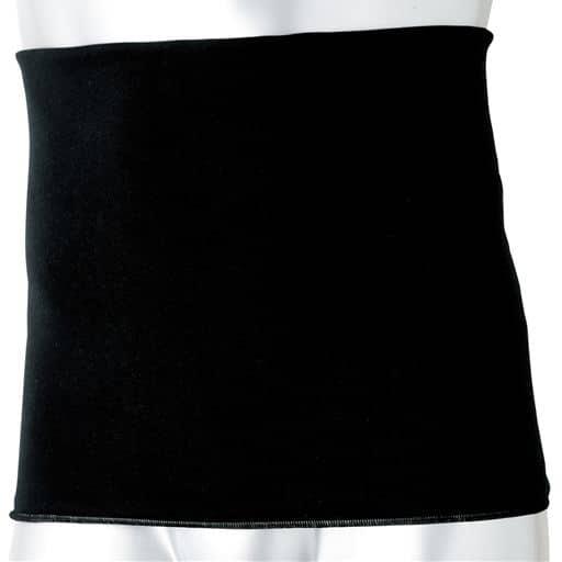 【レディース】 メンズ用腹巻き(同色3枚組) - セシール ■カラー:ブラック ■サイズ:M-L