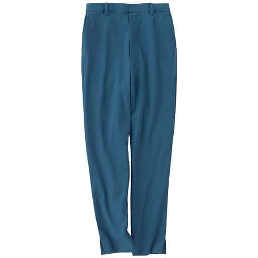 40%OFF【レディース】 イージーテーパードパンツ - セシール ■カラー:グリーン ■サイズ:S,M,L