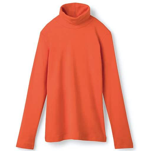 60%OFF【レディース】 UVカットルーズネックTシャツ(S-5L・綿100%) ■カラー:ファッションオレンジ ■サイズ:M,L,LL