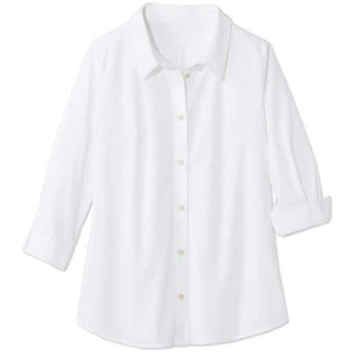 【大きいサイズ プランプ】PLUMPのオフィススタイル-着心地のよさにこだわった技ありシャツ☆グラマーさん用サイズもご用意!