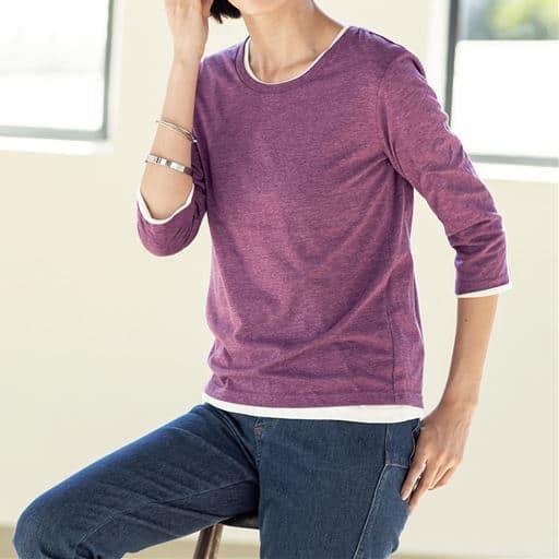 シンプルTシャツ(七分袖・2丈展開)