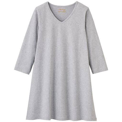 【大きいサイズ プランプ】プリント柄からシンプルな無地と多彩なバリエーションを揃えたVネックTシャツです。