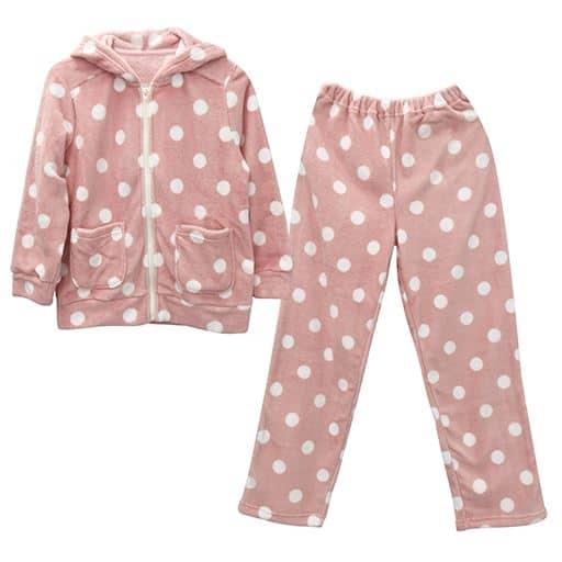【ティーンズ】 ジップパーカースーツ(女児用) - セシール ■カラー:ピンク ■サイズ:140,120