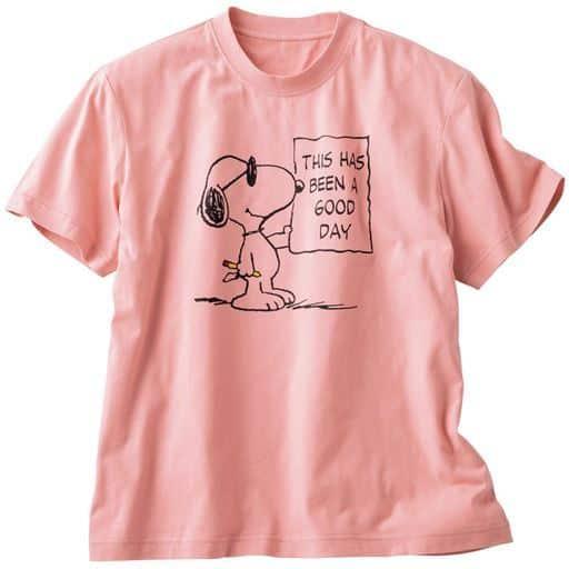 綿100%プリントTシャツ(SNOOPY)