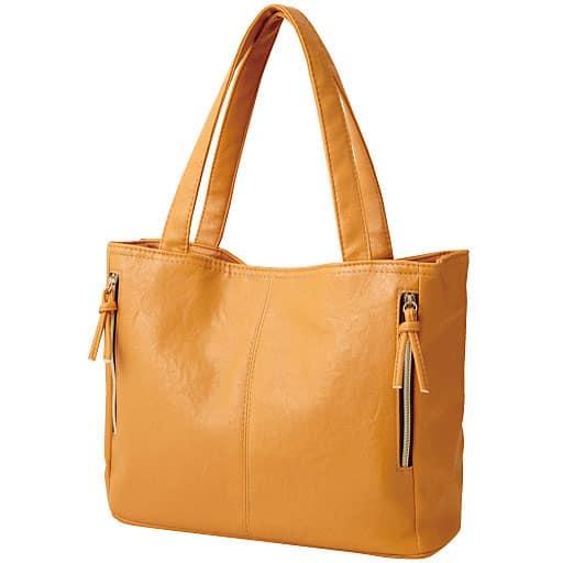 【レディース】 すっきり整頓お出かけトートバッグ ■カラー:ハニーオレンジ