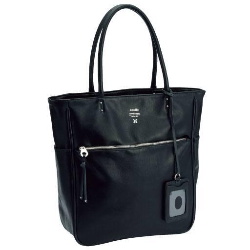 【レディース】 トートバッグ(アネロ)(AT-N0571)(Premium Clasp) - セシール ■カラー:ブラック