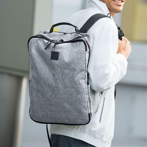 【レディース】 サコッシュバッグ付き多機能リュック(アネロ)(AT-C2241) - セシール ■カラー:グレー