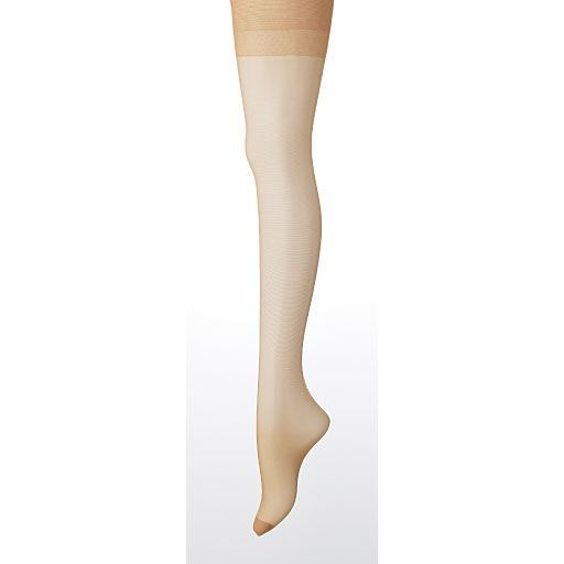 【レディース】 パンティストッキング・1足売り(ミディアムサポートタイプ・静電気防止加工・つま先補強・日本製) ■カラー:ペールベージュ ■サイズ:JS-L,S-L,L-LL