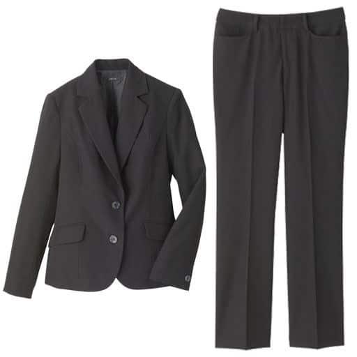 40%OFF【レディース】 パンツスーツ ■カラー:ブラック ■サイズ:13号,7号,11号,15号,5号(プチサイズ),9号