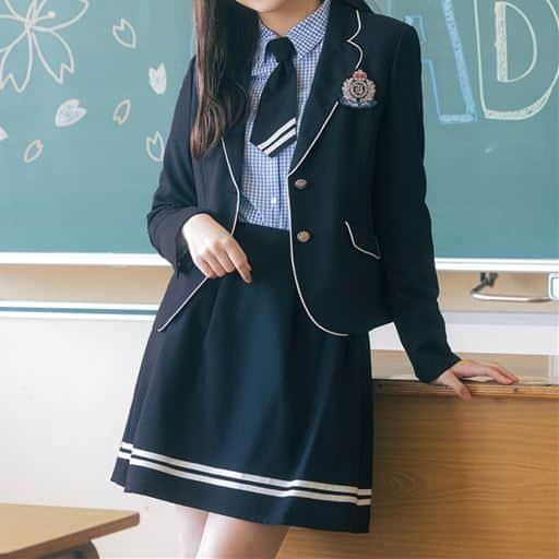 マリン風スーツ5点セット(スクール・制服)