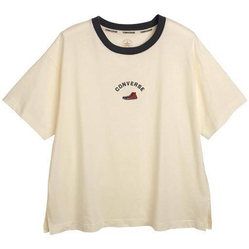 シューズ刺しゅう配色Tシャツ(コンバース)