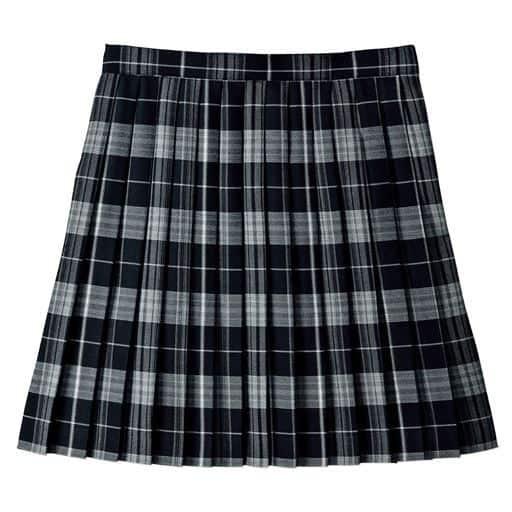 丈が選べる日本製チェック柄プリーツスカート(スクール・制服)