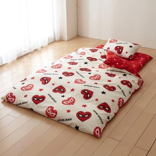 スパイダーマン布団カバーセット(掛け・敷き・枕)の写真