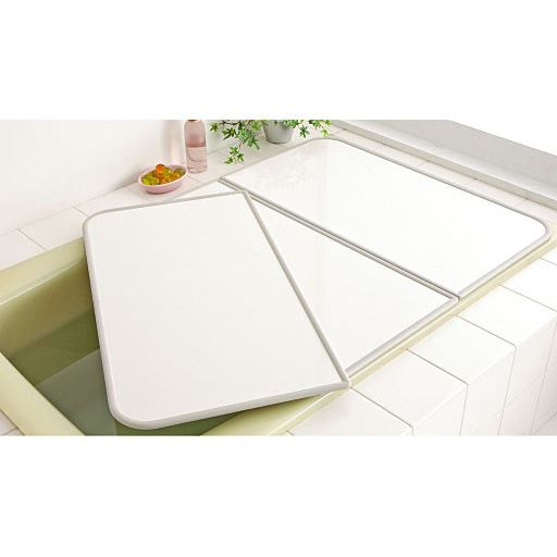 セミオーダー(幅73cm)AG+アルミ組み合わせ - セシール ■カラー:ホワイト ■サイズ:1(73x122cm),2(73x124cm),3(73x1