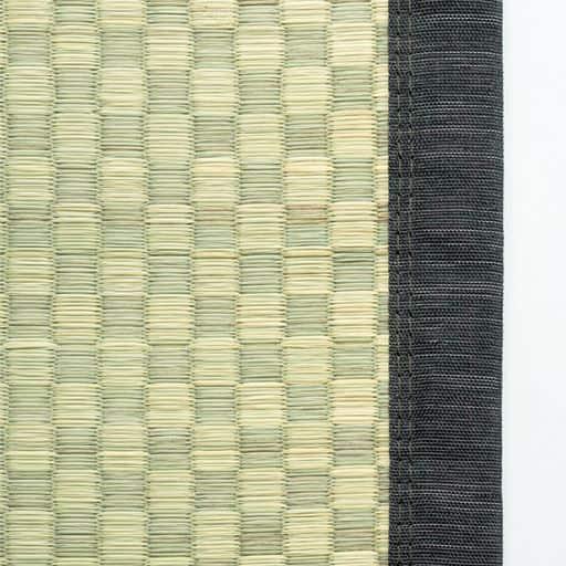 ヒバ加工い草カーペット(裏貼りあり) 日本製い草使用 洋室のフローリングに敷いてもOKの写真