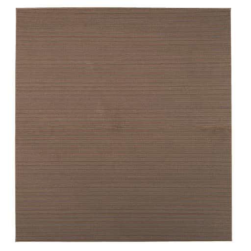 ラグ(汚れが付きにくいダイニング向け つまずきにくい5mmの程よいループ) ■カラー:ブラウン アイボリー ■サイズ:230×160cm,230×210cm,260×230cm,300×230cmと題した写真