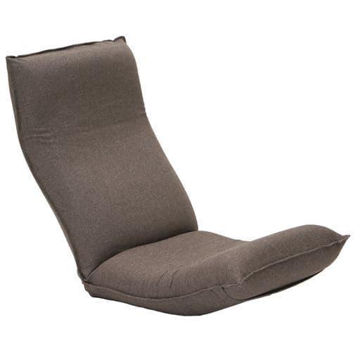 腰に優しいリラックス座椅子 - セシール ■カラー:ブラウン オレンジ グリーン レッド ネイビーブルー ベージュ