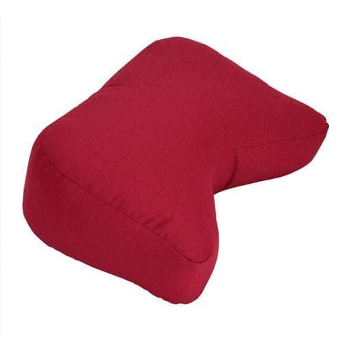 アームレストクッション - セシール ■カラー:レッド グリーン オレンジ ベージュ ブラウン ネイビーブルー