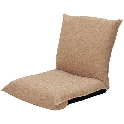 腰に優しいコンパクト座椅子 ■カラー:ベージュ ネイビーブルー レッド グリーン ブラウン オレンジ ブラックの商品画像