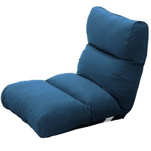 ふわふわクッションのカジュアル座椅子の写真