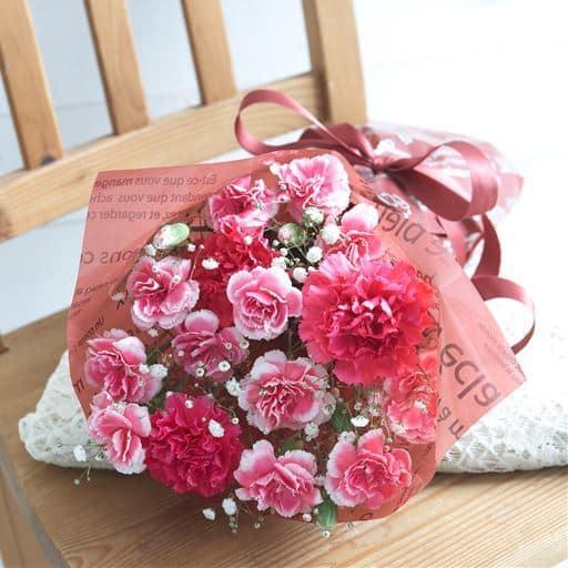 セシール【母の日】花束・ありがとうカステーラセット - セシール