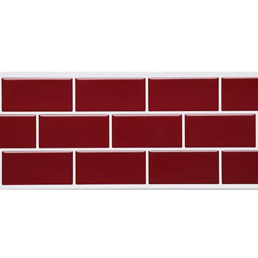 3Dモザイクタイルシール - セシール ■カラー:I(レンガレッド) L(ブリック/グレー) N(モザイク/グリーン) O(モザイク/ネイビー) J(ブリック/ホワイト) M(モザイク/ブラウン) D(テトライエロー) グリーン ブルー オレンジ K(ブリック/モカ) P(キャンディ) A(ホワイト・レース) B(テトラブラック) E(テトラベージュ) H(レンガグレー) グレー ピンク C(テトラブルー) F(レンガホワイト) G(レンガブラック) ホワイト