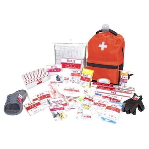 防災バッグ 一次避難用30点セット - セシール ■カラー:レッド