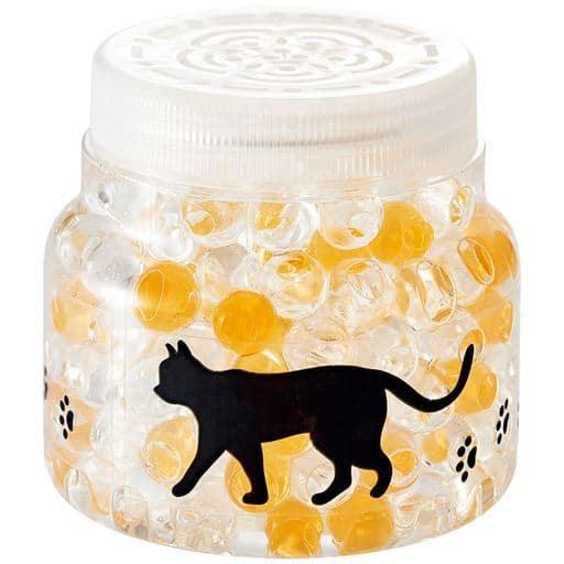 猫デザインの防カビ・消臭バイオ(2個組) - セシール ■カラー:グリーン(お風呂用) ブルー(洗面所用) ピンク(トイレ用) イエロー(キッチン用) オレンジ(押し入れ用) ラベンダー(玄関用) オレンジ(押入れ用)