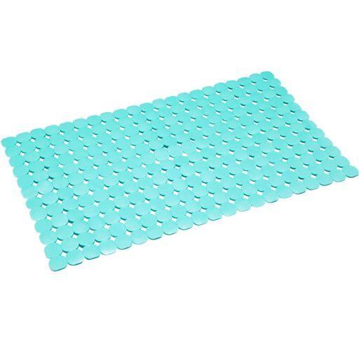 滑り防止バスマット - セシール ■カラー:ブルー