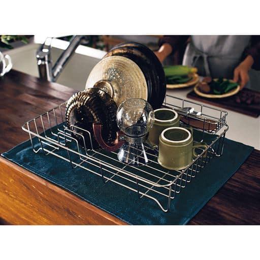 桶田千夏子デザイン 水切りバット - セシール ■サイズ:C(カトラリー入れ),D(まな板スタンド)