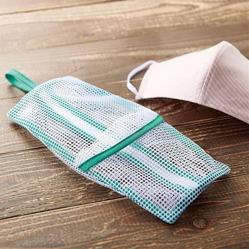 マスク専用洗濯ネット - セシール ■サイズ:A(2枚組)